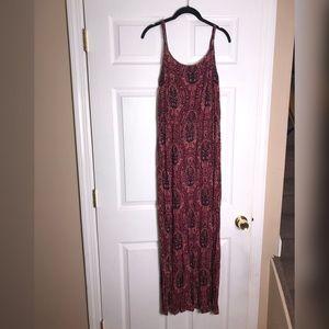 Paisley Maxi Dress